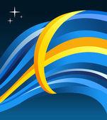 Sweden flag illustration — Stock Vector