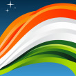 India flag illustration — Stok Vektör
