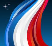 France flag illustration — Stock Vector