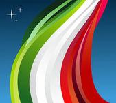 Mexico flag illustration — Stock Vector