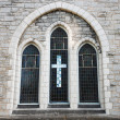 Old church window — Stock Photo #7798536