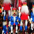 Nutcracker marionettes — Stock Photo