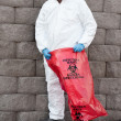 Stock Photo: Hazardous waste