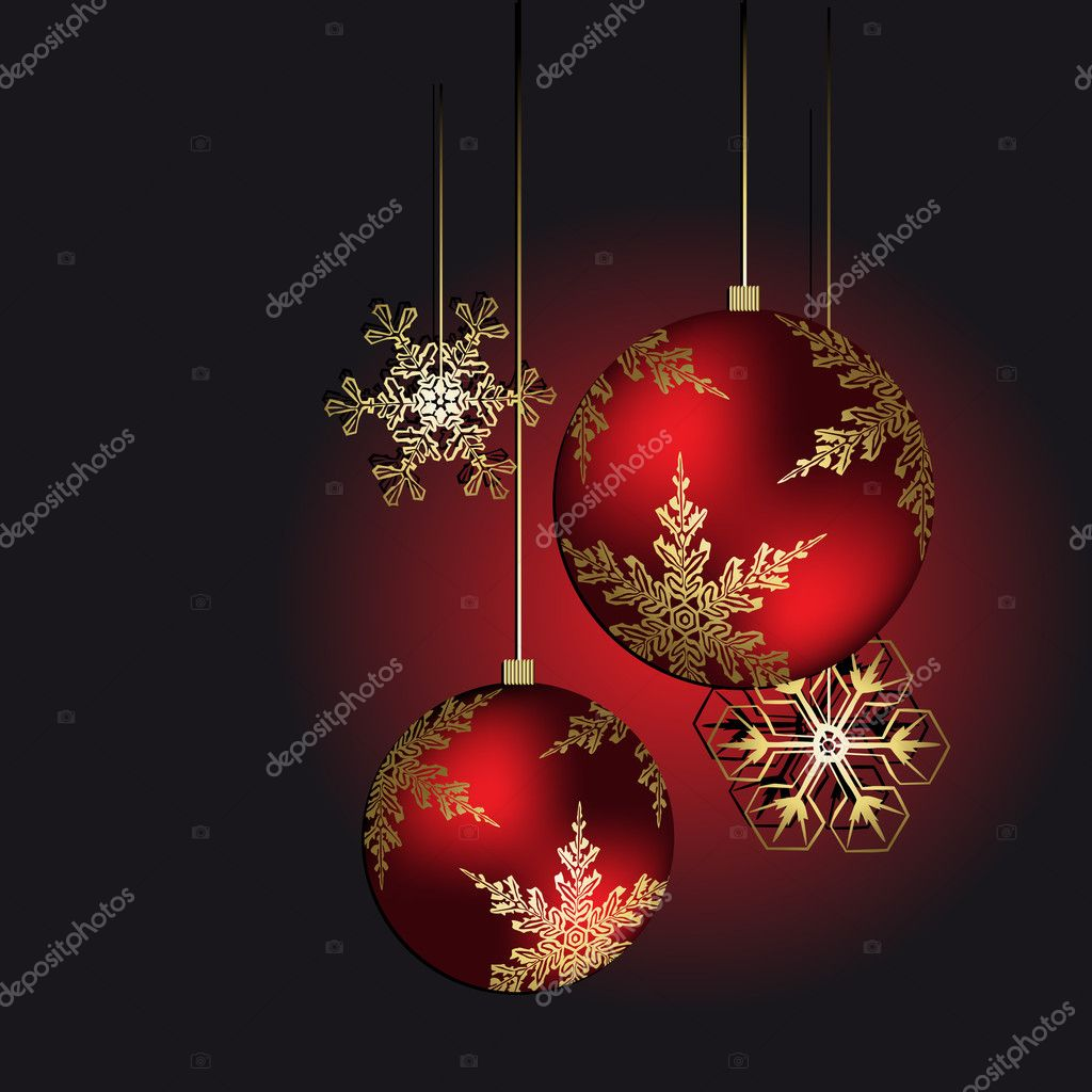 Christmas decoration — Stock Vector #7473453