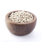 Cannellini beans or Haricot in a bowl isolated — Stock Photo