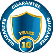 Guarantee icon design — Stock Vector