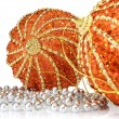 Balls decoration for New Year and Christmas — Stock Photo