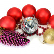 Decorations for New Year and Christmas — Stock Photo #7462555