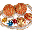 Decorations for New Year and Christmas — Stock Photo #7462566