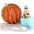 Stock Photo: Decorations for New Year and Christmas