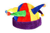 Hat for a jester and clown — Stock Photo