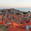 Stock Photo: Dubrovnik at sunset