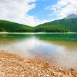 Glacial Black lake in Durmitor — Stock Photo