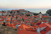 Dubrovnik at sunset — Stock Photo