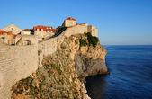 Dubrovnik vid solnedgången — Stockfoto