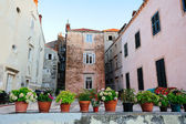 Old houses of Dubrovnik — Stock Photo