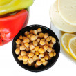 chick peas — Stock Photo