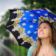 Girl with umbrella — Stock Photo #7252812