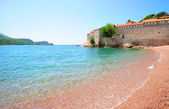 Sveti Stefan island in Montenegro — Stock Photo