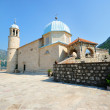 Church of Our Lady on the Rock in Perast — Стоковая фотография