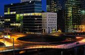Oslo city evening view — Stock Photo