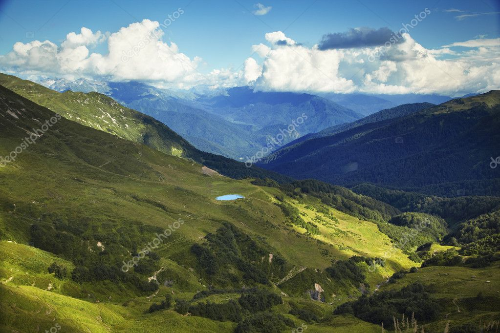Caucasus mountains. Abkhazia — Stock Photo #7144477