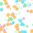 Seamless flower background — Photo