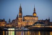 Hofkirche Dresden — Fotografia Stock