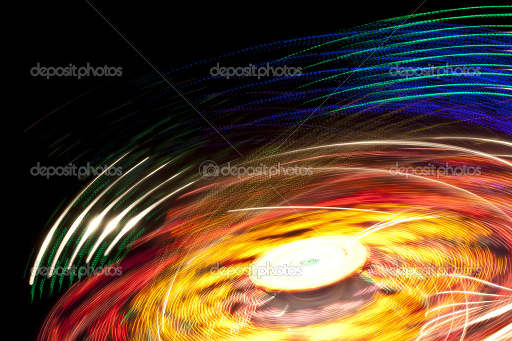 An image of a stylish lights motion background — Stock Photo #7056789