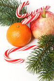 Christmas fruit — Stock Photo