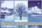 Blue christmas — Stock fotografie