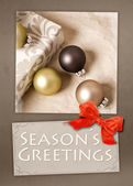 Seasons Greetings — Stock Photo