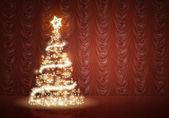 Natale blu — Foto Stock