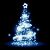 Christmas lights — Stock Photo
