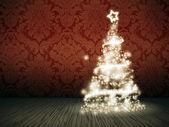 Rot weihnachten — Stockfoto