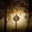 Cross in bavaria - Stock Photo
