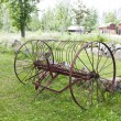 Vintage Farm Equipment - Stockfoto