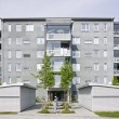 Foto Stock: Apartment Building