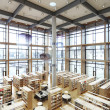 Stock Photo: Modern Library
