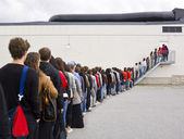 Waiting in Line — Stock Photo