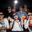 Scared movie spectators — Stock Photo #6980000