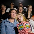 Stock Photo: Young couple at the cinema
