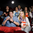 Couple at the cinema — Stock Photo #6994887
