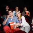 Young couple at cinema — Stock Photo #6994925