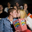 Young couple at the cinema — Stock Photo #6995143