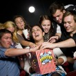 Eating popcorn — Stock Photo #6995214