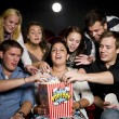 Eating popcorn — Stock Photo #6995260