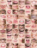 Mouths — Stock Photo