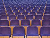 Toeschouwers zetels — Stockfoto