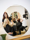 Hair Salon situation — Stock Photo